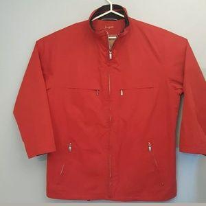 Bugatti Men 3/4 red jacket Lightweight size 42R
